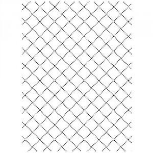 Darice Hintergrund-Prägeschablone - Wire Fence