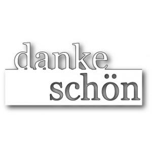 Memory Box Stanzschablone - Grand Danke Schön