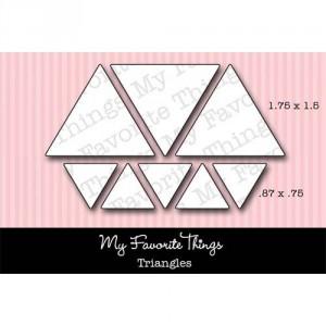 My Favorite Things Die-Namics Die - Triangles