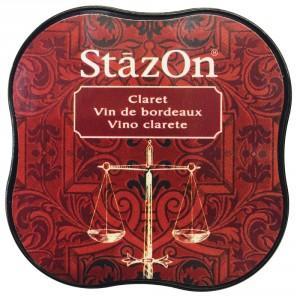 StazOn Midi Ink Pad Stempelkissen - Claret