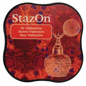 StazOn Midi Ink Pad Stempelkissen - St. Valentine