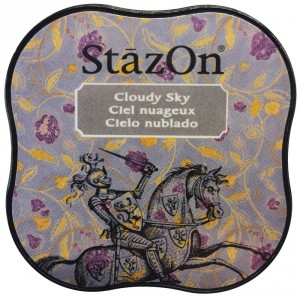 StazOn Midi Ink Pad Stempelkissen - Cloudy Sky