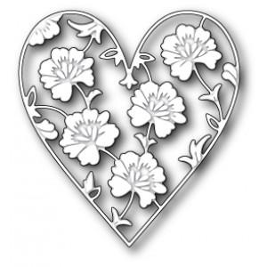 Memory Box Stanzschablone - Ferrand Heart