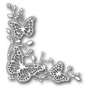 Memory Box Stanzschablone - Fluttering Corner