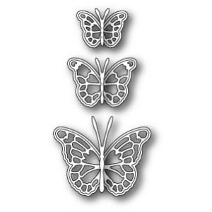 Memory Box Stanzschablone - Leavenworth Butterfly Trio