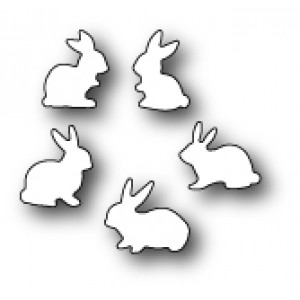Memory Box Stanzschablone - Baby Bunnies