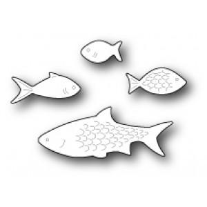 Poppy Stamps Stanzschablone - Aquarium Fish