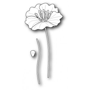 Poppy Stamps Stanzschablone - Small Iceland Poppy