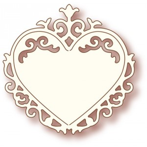 Wild Rose Studio Stanze - Ornate Heart