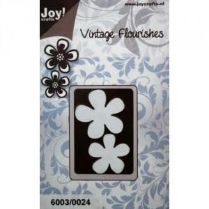 JoyCrafts Stanzschablone - Blumen (2 St.)