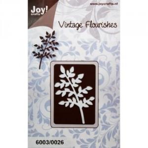 JoyCrafts Stanzschablone - Zweig Blätter (dünn)