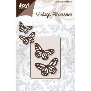 JoyCrafts Stanzschablone - 2 Schmetterlinge