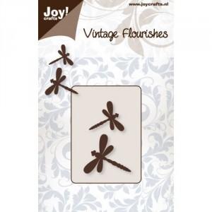 JoyCrafts Stanzschablone - Libellen (2 St.)