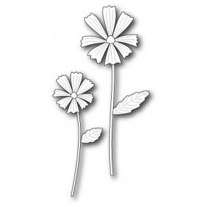 Poppy Stamps Stanzschablone - Cottage Flowers