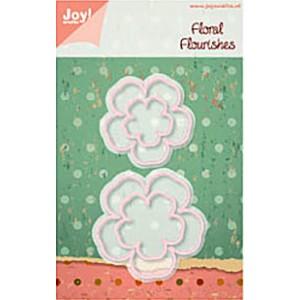 JoyCrafts Stanzschablone - Floral Flourishes 1