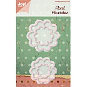 JoyCrafts Stanzschablone - Floral Flourishes 3
