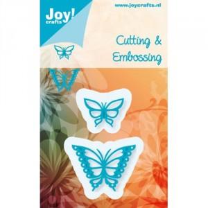 JoyCrafts Stanzschablone - Großer und kleiner Schmetterling
