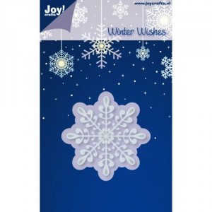 JoyCrafts Stanzschablone - Winter Wishes Snowflakes 3