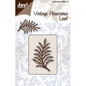 JoyCrafts Stanzschablone - Vintage Flourishes Leaf