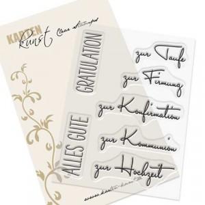 """Karten-Kunst Clear Stamp Set - Capri """"Kirchliche Feste"""""""