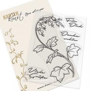 Karten-Kunst Clear Stamp Set - Glockenblumen-Grüße - 30% RABATT