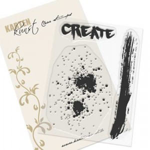 Karten-Kunst Clear Stamp Set - Splatters Create