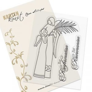 Karten-Kunst Clear Stamp Set - Engel zur Konfirmation und Kommunion