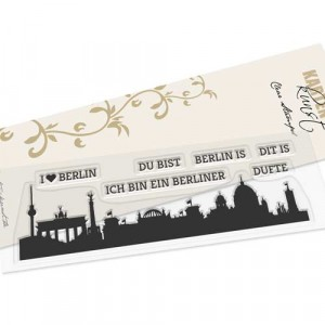 Karten-Kunst Clear Stamps KK-0155 - Skyline Berlin