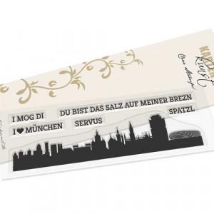 Karten-Kunst Clear Stamps KK-0161 - Skyline München
