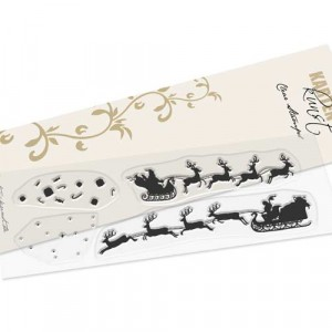 Karten-Kunst Clear Stamps KK-0171 - Santa Silhouette