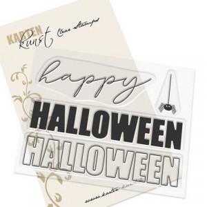 Karten-Kunst Clear Stamp Set - Mega Halloween
