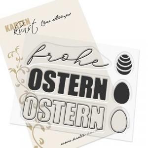 Karten-Kunst Clear Stamp Set - Mega Ostern