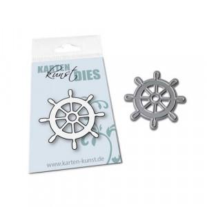 Karten-Kunst Stanzschablone kk-D145 - Mini Ship's Wheel