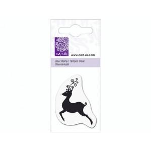 cArt-Us Mini-Stempel - Rentier Ornament