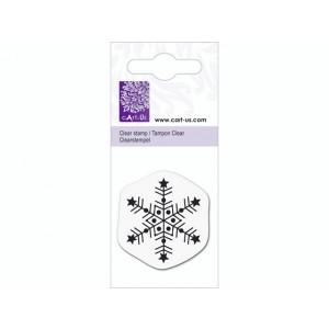 cArt-Us Mini-Stempel - Eiskristall Stern