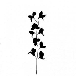 Lavinia Stamps - Silhouette Orchid