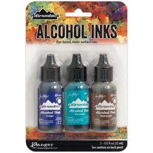 Adirondack Alcohol Inks - 3er Set Mariner