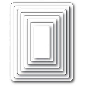 Memory Box Open Studio Stanzschablone - Studio Rectangles Layers