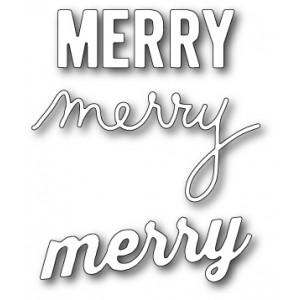 Memory Box Open Studio Stanzschablone - Make Merry