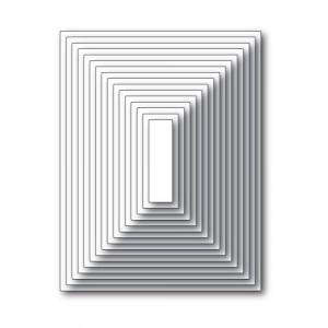 Memory Box Open Studio Stanzschablone - Rectangle Basics Set