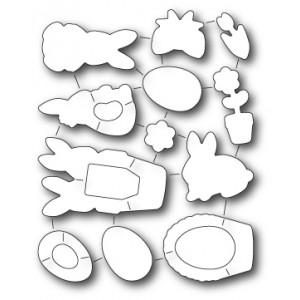 Memory Box Stanzschablonen-Set  - Springtime Bunnies Die Set