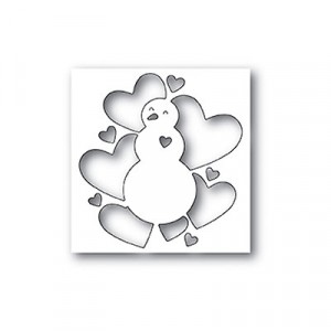 Memory Box Stanzschablone - All Heart Snowman  - 35% RABATT