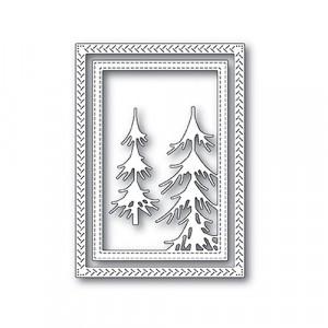 Memory Box Stanzschablone - Pine Forest Frame - 20% RABATT