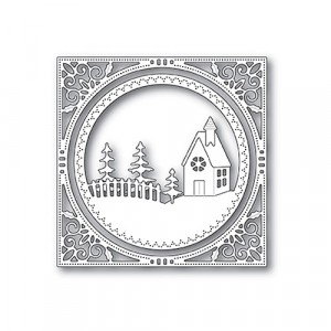 Memory Box Stanzschablone - Country Church Frame
