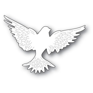 Memory Box Stanzschablone - Large Winged Dove