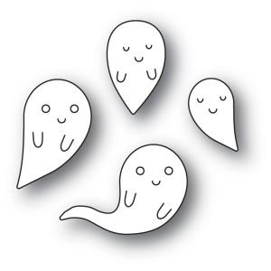 Memory Box Stanzschablone - Friendly Ghosts - 30% RABATT