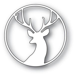 Memory Box Stanzschablone - Fancy Deer Circle
