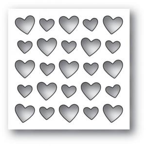 Memory Box Stanzschablone - Heart Board