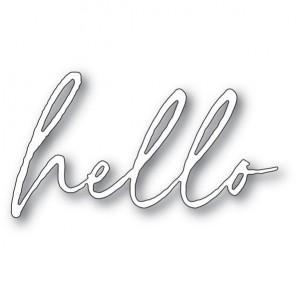 Memory Box Stanzschablone - Big Hello Premiere - 30% RABATT