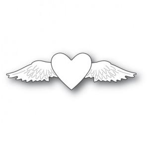 Memory Box Stanzschablone - Winged Heart